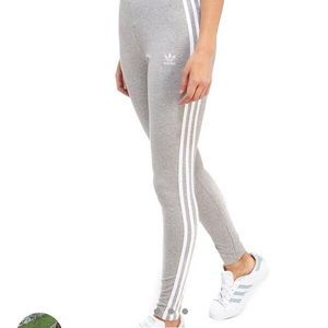 Adidas Varsity 3 stripe leggings